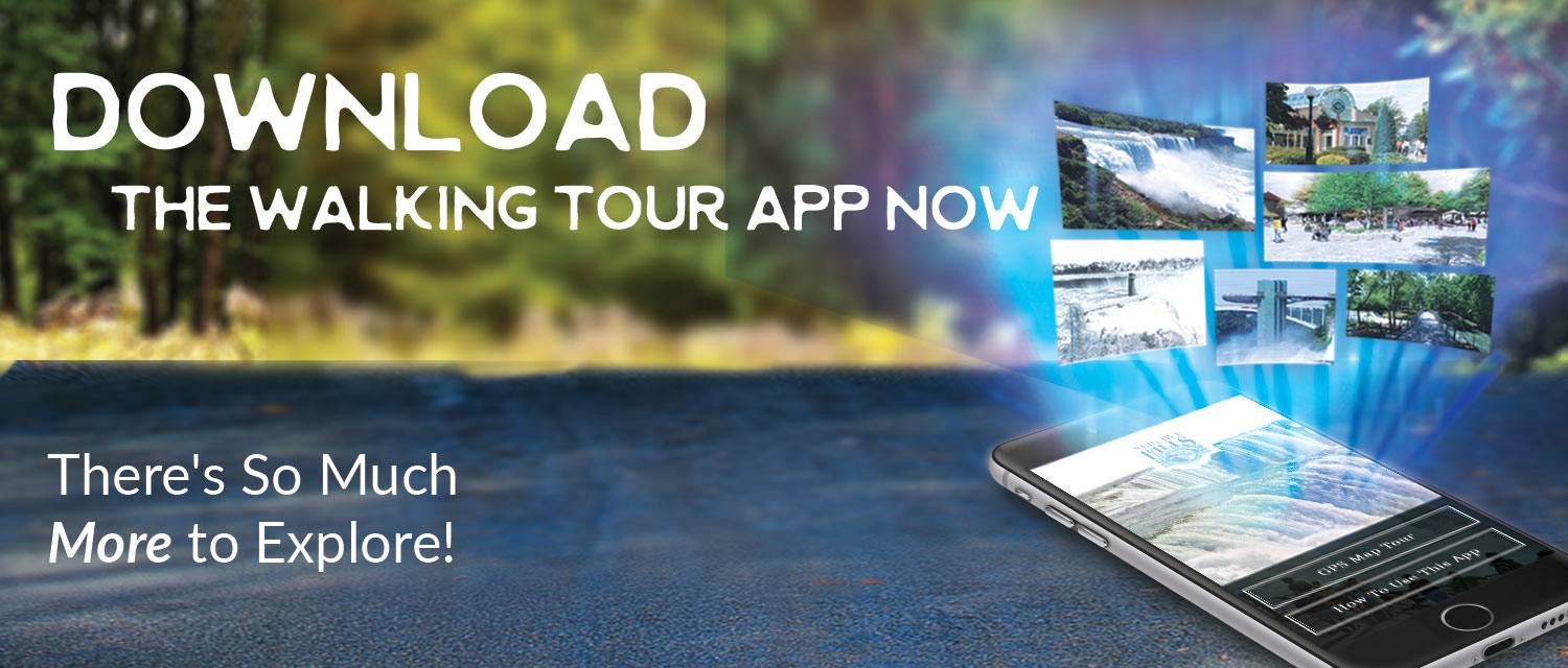 Download the Official Niagara Falls State Park walking tour app!