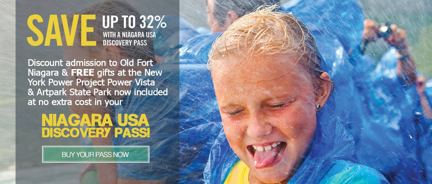 Purchase your Niagara USA Discovery Pass