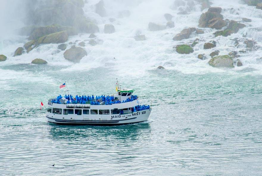 Maid of the Mist Tours at Niagara Falls